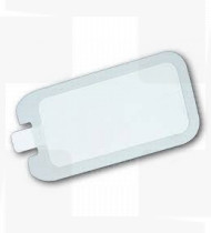 Placa de gel p/electrobisturi adulto 217x105mm cx 100