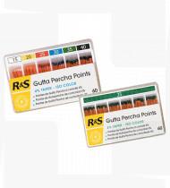 Pontas de guta-percha R&S 4% 25 cx 100