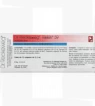 Rekin 59 - 2ml cx10 ampolas