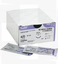 Fio de sutura Safil incolor 2/0 70cm DS24 cx36