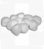 Algodão bolas brancas saco 500 unidades