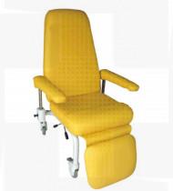 Cadeira de transporte tratamento/descanso série VIII com rodas