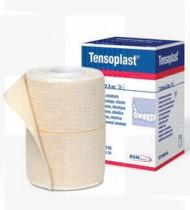 Ligadura elástica adesiva Tensoplast de algodão e viscose 10cm x 2,7mt