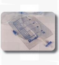 Saco urina 2L c/torneira CV+DS Ref. UB2LSTTV