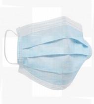 Máscara para proteção respiratória com elásticos de uso único cx50