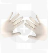 Luva cirúrgica estéril Covidien  s/pó nº7 cx50 pares